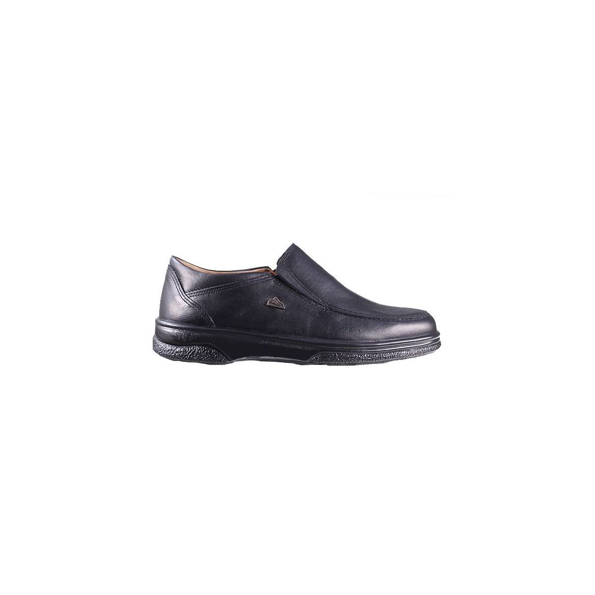 boxer ανδρικά loafers 11534 ΜΑΥΡΟ
