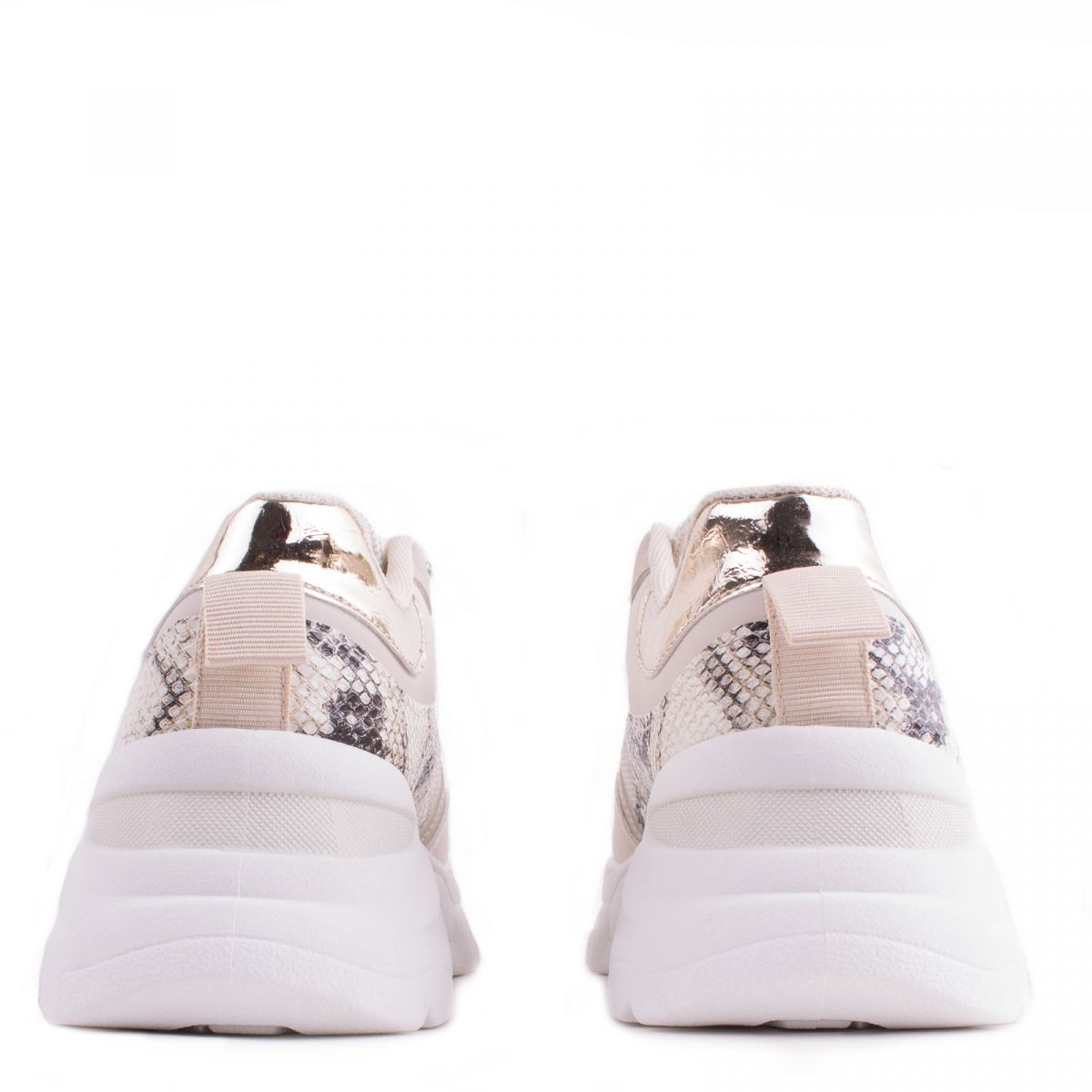 Sneakers με Συνδυασμό Υλικών 9122 oem ΜΠΕΖ