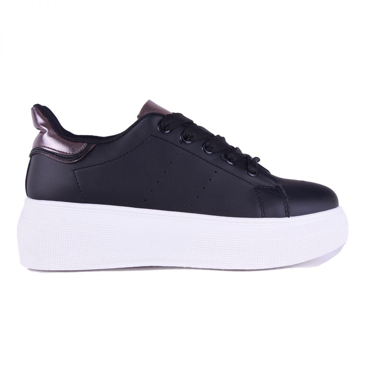 γυναικεία sneakers c8257-1 oem ΜΑΥΡΟ
