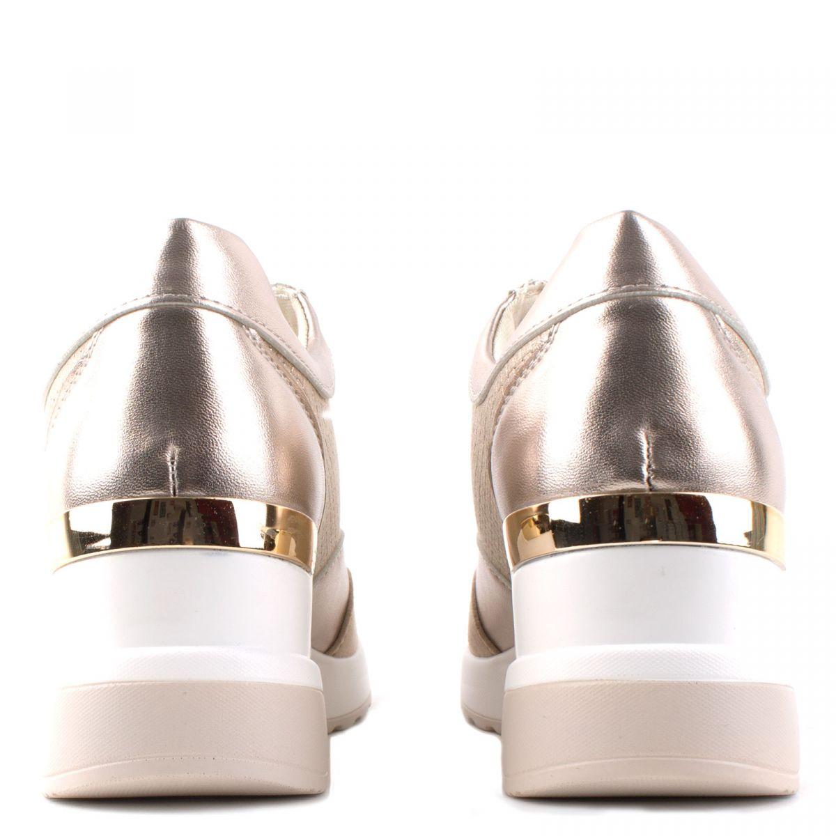 Γυναικεία sneakers με πλατφόρμα OEM Km025 ΧΡΥΣΟ